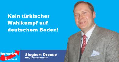 Kein türkischer Wahlkampf auf deutschem Boden