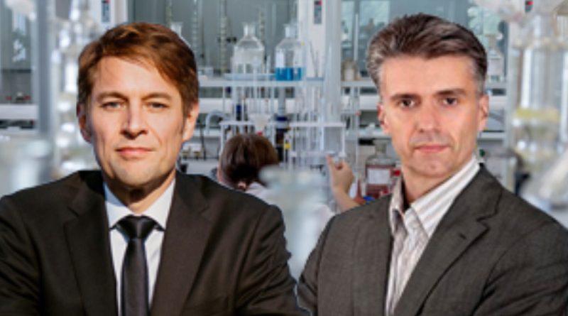 Dr. Götz Frömming und Marc Jongen, MdB, Abgeordnete der AfD-Bundestagsfraktion