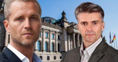 Petr Bystron und Marc Jongen, MdB, Abgeordnete der AfD-Bundestagsfraktion, FotoAfD
