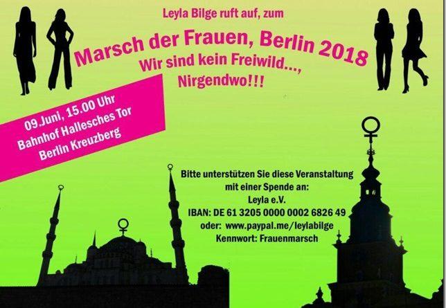 Marsch der Frauen Berlin 09 Juni 2018