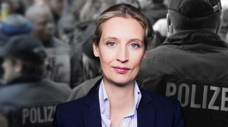 Dr. Alice Weidel, Vorsitzende der AfD-Bundestagsfraktion, FotoAfD/Pixabay_fsHH