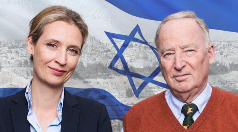 Alexander Gauland und Alice Weidel, Vorsitzende der AfD-Bundestagsfraktion, FotoAfD/reijotelaranta_RonnyK