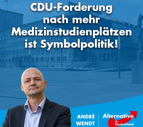 Mit Blick auf die drohende ärztliche Unterversorgung in Sachsen, will die CDU Medienberichten zufolge die Gesundheitsversorgung verbessern.