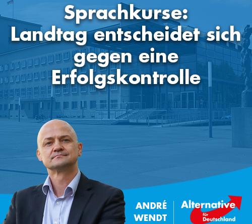 Sprachkurse: Landtag entscheidet sich gegen eine Erfolgskontrolle