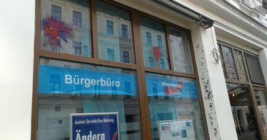 AfD-Bürgerbüro Görlitz erneut angegriffen und beschädigt