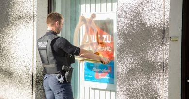 """Erneuter Farbanschlag der """"Antifa"""" auf AfD-Büro im Erzgebirge"""