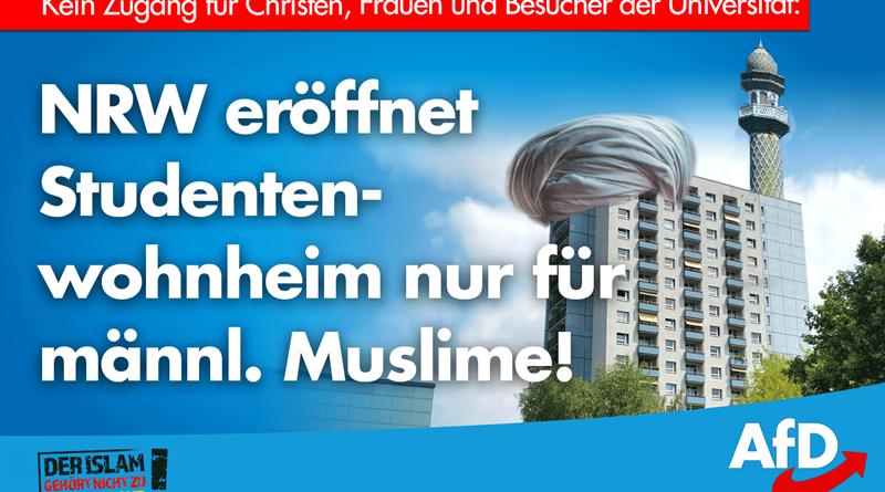 Failed state: In NRW entsteht das erste Studentenwohnheim nur für männliche Muslime
