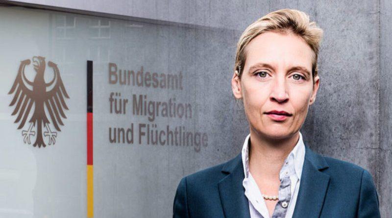 Dr. Alice Weidel, Vorsitzende der AfD-Bundestagsfraktion, FotoAfD