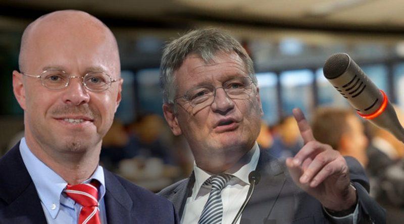 Schüler des Saldern-Gymnasiums versuchten AfD-Chef Jörg Meuthen von Podiumsdiskussion auszuschließen.
