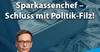 Postenvergabe Sparkassenchef – Schluss mit Politik-Filz