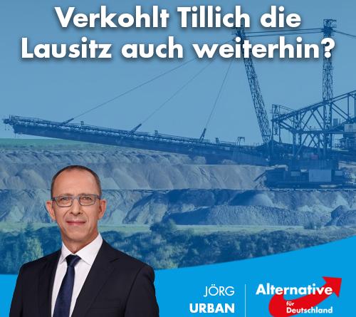 Verkohlt Tillich die Lausitz auch weiterhin?