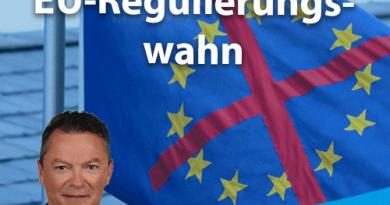CDU unterstützt EU-Regulierungswahn