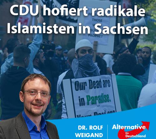CDU hofiert radikale Islamisten in Sachsen