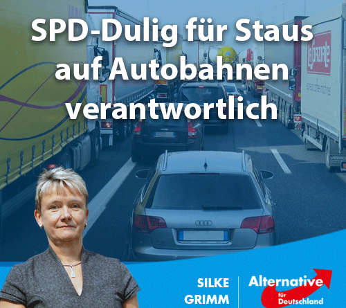 Dulig für Staus auf Autobahnen verantwortlich
