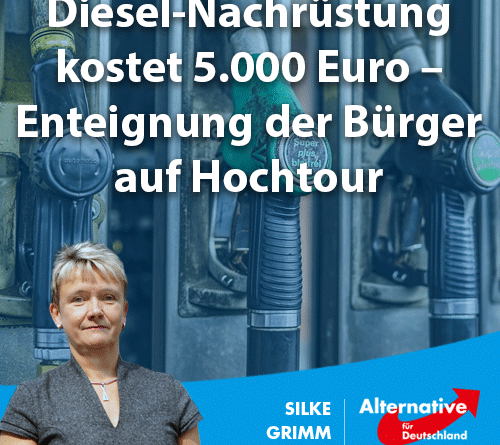 Diesel-Nachrüstung kostet 5.000 Euro – Enteignung der Bürger auf Hochtour