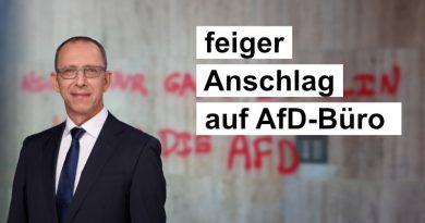 Erneuter, feiger, linksextremistischer Anschlag auf AfD-Büro in Sachsen – Handeln Sie endlich, Herr Innenminister!