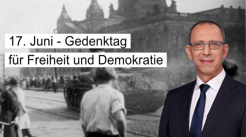 AfD-Gesetzentwurf fordert Gedenktag für Freiheit und Demokratie