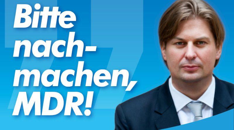 Österreichs Journalisten sollen sich künftig neutral verhalten – bitte nachmachen, MDR!