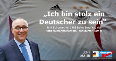 """""""Ich bin stolz ein Deutscher zu sein"""""""
