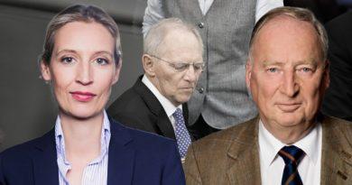 Bundestagspräsident Wolfgang Schäuble agiert nicht neutral