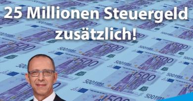 Parteienfinanzierung: CDU und SPD wollen 25 Millionen Steuergeld zusätzlich!