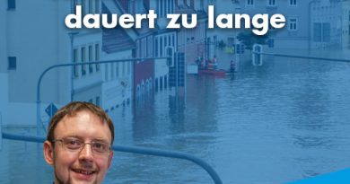 Wiederaufbau nach Hochwasserfluten dauert zu lange