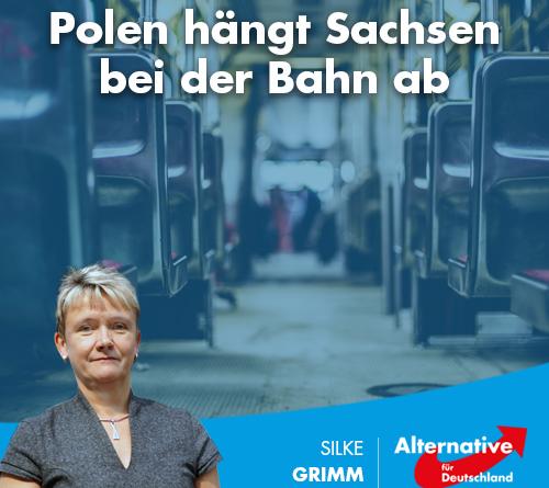 Polen hängt Sachsen bei der Bahn ab