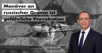Manöver an russischer Grenze ist gefährliche Provokation – Ami Go Home!