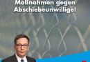 AfD fordert härte Maßnahmen gegen Abschiebeunwillige!