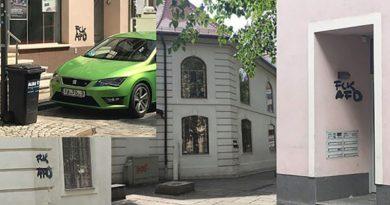 AfD-Büro und Synagoge in Cottbus beschmiert – aber Medien schweigen