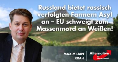 Russland bietet rassisch verfolgten Farmern Asyl an – EU schweigt zum Massenmord an Weißen!