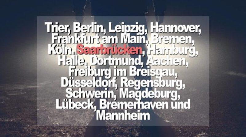 Saarbrücken gehört zu den kriminellsten Städten in Deutschland