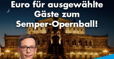 CDU-Regierung spendiert rund 35 000 Euro für ausgewählte Gäste zum Semper-Opernball!