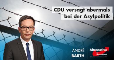 CDU versagt abermals bei der Asylpolitik
