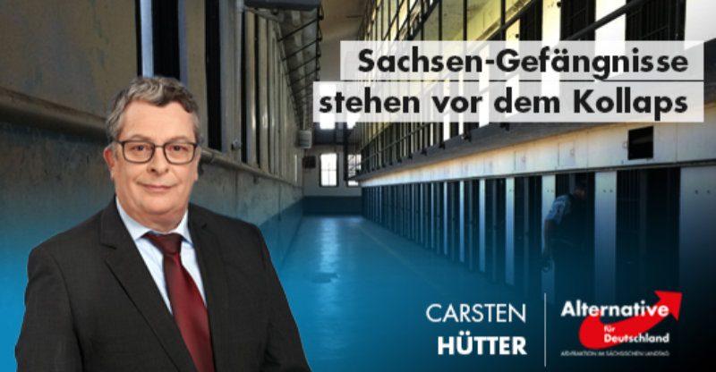 Sachsen Gefängnisse stehen vor dem Kollaps