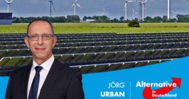 AfD fordert: Experiment Energiewende sofort beenden