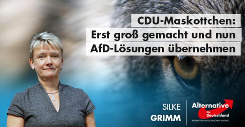 CDU-Maskottchen: Erst groß gemacht und nun AfD-Lösungen übernehmen
