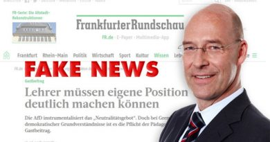 Frankfurter Rundschau korrigierte ihre Fakenews über die AfD Hamburg