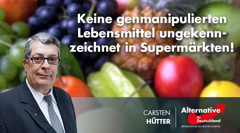 Keine genmanipulierten Lebensmittel ungekennzeichnet in Supermärkten!