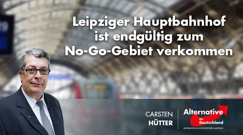 Leipziger Hauptbahnhof ist endgültig zum No-Go-Gebiet verkommen