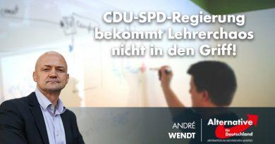 CDU-SPD-Regierung bekommt Lehrerchaos nicht in den Griff!
