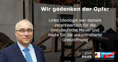 Wir gedenken der Opfer - 57. Jahrestag des innerdeutschen Mauerbaus