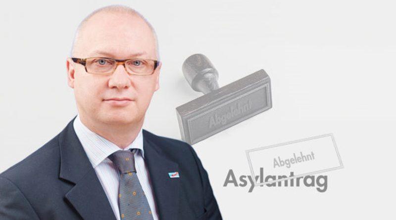 Keine Aufweichung des Asylrechts – Abgelehnte Bewerber sind keine Einwanderer!