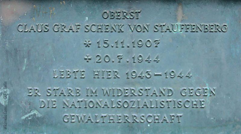 Stauffenberg ist ein Held der deutschen Geschichte