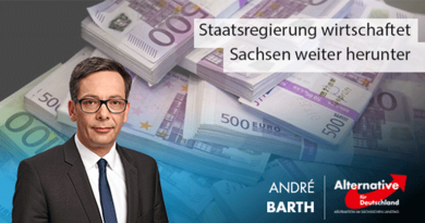 Staatsregierung wirtschaftet Sachsen weiter herunter