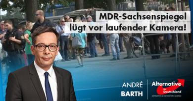 MDR-Sachsenspiegel lügt vor laufender Kamera!