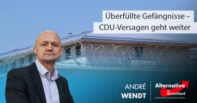 Überfüllte Gefängnisse – CDU-Versagen geht weiter