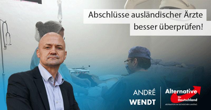 Abschlüsse ausländischer Ärzte besser überprüfen! Anhörung zum AfD-Antrag