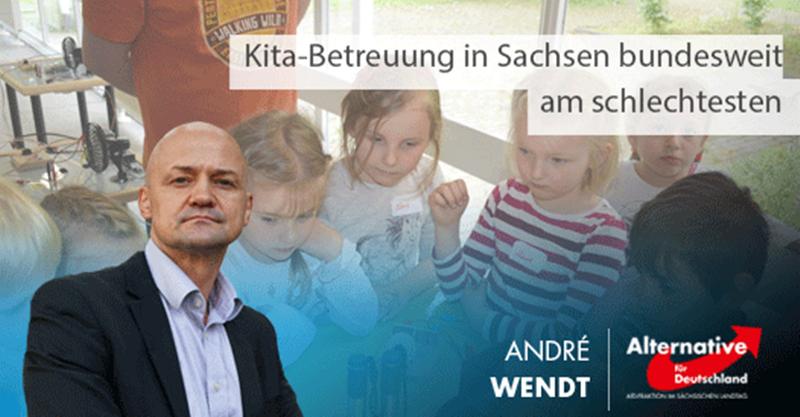 Kita-Betreuung in Sachsen bundesweit am schlechtesten