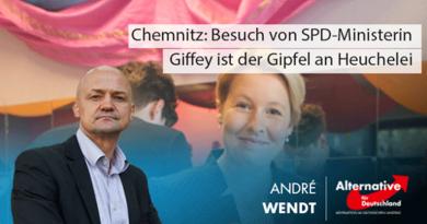 Chemnitz: Besuch von SPD-Ministerin Giffey ist der Gipfel an Heuchelei